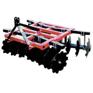 Howse 3 Point Disc Harrow   9ft.W, Model# DHT24022 R Home