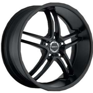 Boss 340 20x8.5 Black Wheel / Rim 5x115 with a 38mm Offset and a 82.80