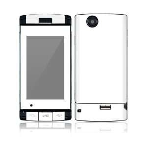 Simply White Decorative Skin Cover Decal Sticker for Sharp FX