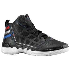 adidas adiZero Shadow   Mens   Basketball   Shoes   Black/Blue/Red