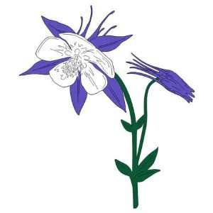 Colorado   Laser Cut   Columbine Flower Arts, Crafts & Sewing