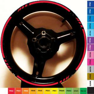 RIM STRIPE WHEEL DECAL TAPE HONDA CBR 600RR F F2 F3 F4i