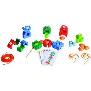 Plan Education Physical Lacing Fine Motor Skill Play Set: Toys & Games