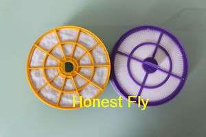 Hepa Filter Kit For Dyson DC07 PRE & POST Motor