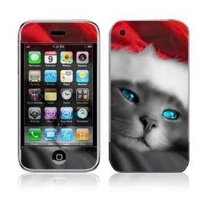 2G Vinyl Decal Sticker Skin   Christmas Kitty Cat