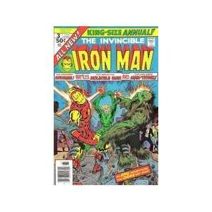 Invincible Iron Man (King Size Annual #3) Books