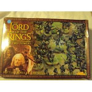 the Two Towers Battle Games in the World of Middle Earth Toys & Games