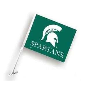 Michigan State MSU Spartans Car/Truck Window Flag  Sports