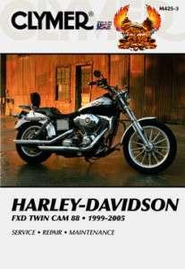 CLYMER SERVICE MANUAL HARLEY DAVIDSON M425 FXDL FXDLI