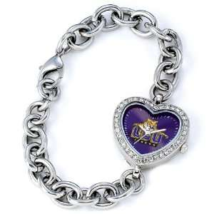 Tigers NCAA Tiger Womens Heart Watch from Game Time Sports