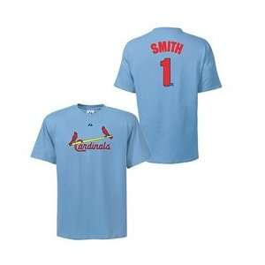 St. Louis Cardinals Ozzie Smith Cooperstown Name & Number T Shirt