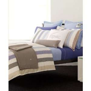 Lacoste Bedding, Goelette Chevron Stripes Full Queen Bed