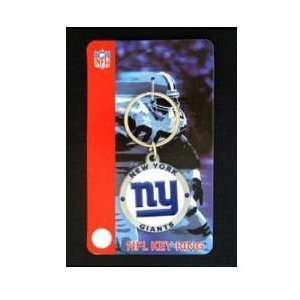 NFL Key Ring   New York Giants Logo