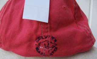 Lauren PRL polo hat cap small medium skipper red $39 nwt canoe