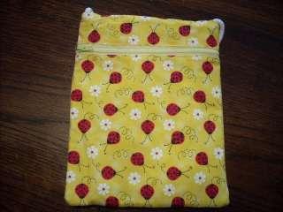Ladybug lady bugs fabric tablet kindle case purse bag