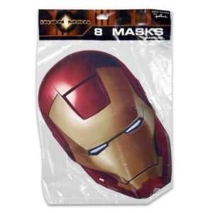 Mask 8 Piece Iron Man Case Pack 180
