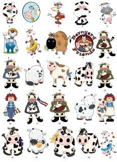 COW FARM MOO COUNTRY Return Address Labels Favor Tags BUY 3 GET 1 FREE