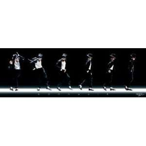 Michael Jackson Moonwalk Music Dance Poster 12 x 36 inches