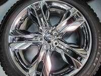 Ford Edge Factory Chrome Clad 20 Wheels Tires OEM Rims 3847 245/50/20