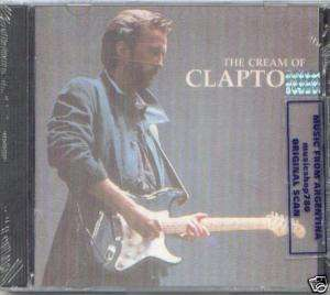 ERIC CLAPTON, THE CREAM OF CLAPTON. FACTORY SEALED CD. In English.