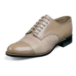 Stacy Adams MADISON Mens Taupe Leather Shoe 00049 20