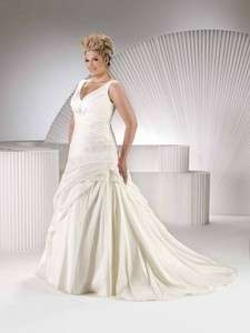 2012 Charming Plus size Girl bridal gown wedding dress New Style