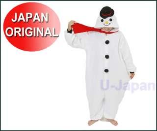 Halloween Costumes Snowman Kigurumi Japan party pajamas Genuine from