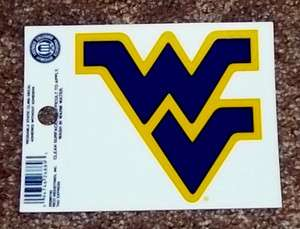 Virginia Mountaineers NCAA Sticker Static Cling / Window Cling Decal