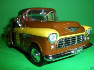 1955 55 CHEVY CAMEO PICK UP TRUCK GOLDEN RULE LUMBER