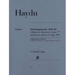com Haydn String Quartets Book XI op. 77 und 103 (Lobkowitz Quartets