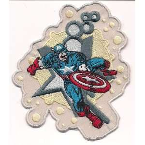 Marvel Comics Captain America Star Embroidered PATCH