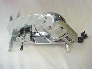 RIVAL ELECTRIC MEAT FOOD DELI SLICER 1101E/3 STAINLESS
