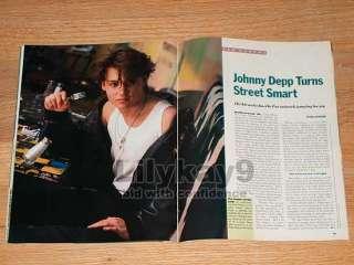 STALLONE Rocky DARK SHADOWS Jonathan Frid JOHNNY DEPP Us 1988