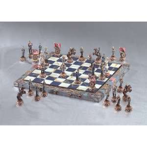 Civil War Chess Set Toys & Games