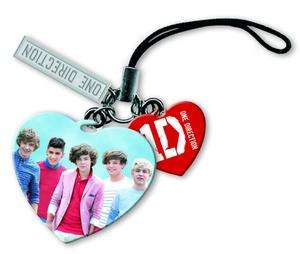 1D One Direction Collectable Mobile Phone Charm Love Heart 100%