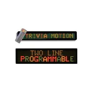 2 Line Multi Color LED Message Board Display