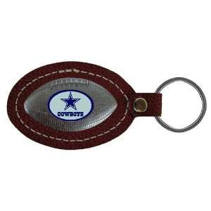 Dallas Cowboys NFL Football Key Tag (Leather)  Sports