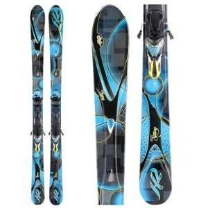 K2 SuperStitious Carving Skis + Marker ERS 11.0 TC