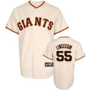 Tim Lincecum Majestic Replica San Francisco Giants Kids 4 7 Jersey