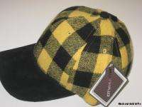 Black Gold City Hunter Cap Hat Pittsburgh Steelers Colors NEW