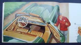 MERCEDES BENZ 300SL ROADSTER CAR SALES BROCHURE 1958.