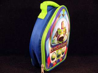 Buzz Lightyear Toy Story Insulated Lunch Box Bag New