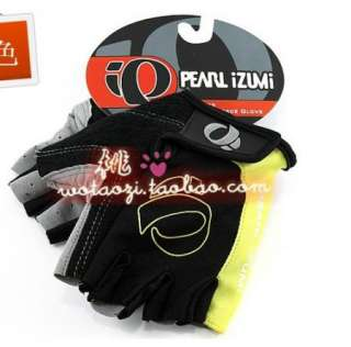2011 NEW Cycling Bike Bicycle half finger gloves M  XL Yellow