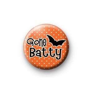 GONE BATTY 1.25 Magnet ~ Halloween Bat