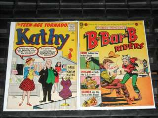 Good Girl Bad Girl Art 89pc Golden Age Comic Collection Lot Headlight