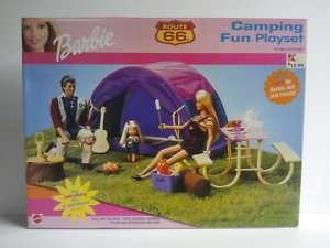 Rare Barbie Route 66 Camping Fun Playset   2000