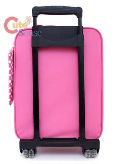 Sanrio Hello Kitty Suitcase Luggage Trolley Bag Pink