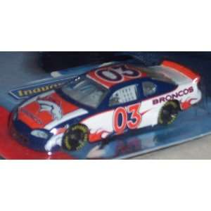Denver Broncos 2003 164 Scale NFL Diecast Stock Car by Action/Winner