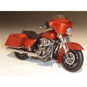 2011 Harley Davidson FLHX Street Glide Sedona Orange 1/12