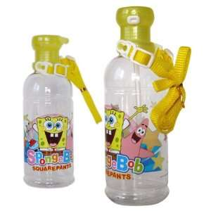 Water Bottle   SpongeBob Plastic Water Bottle: Toys & Games